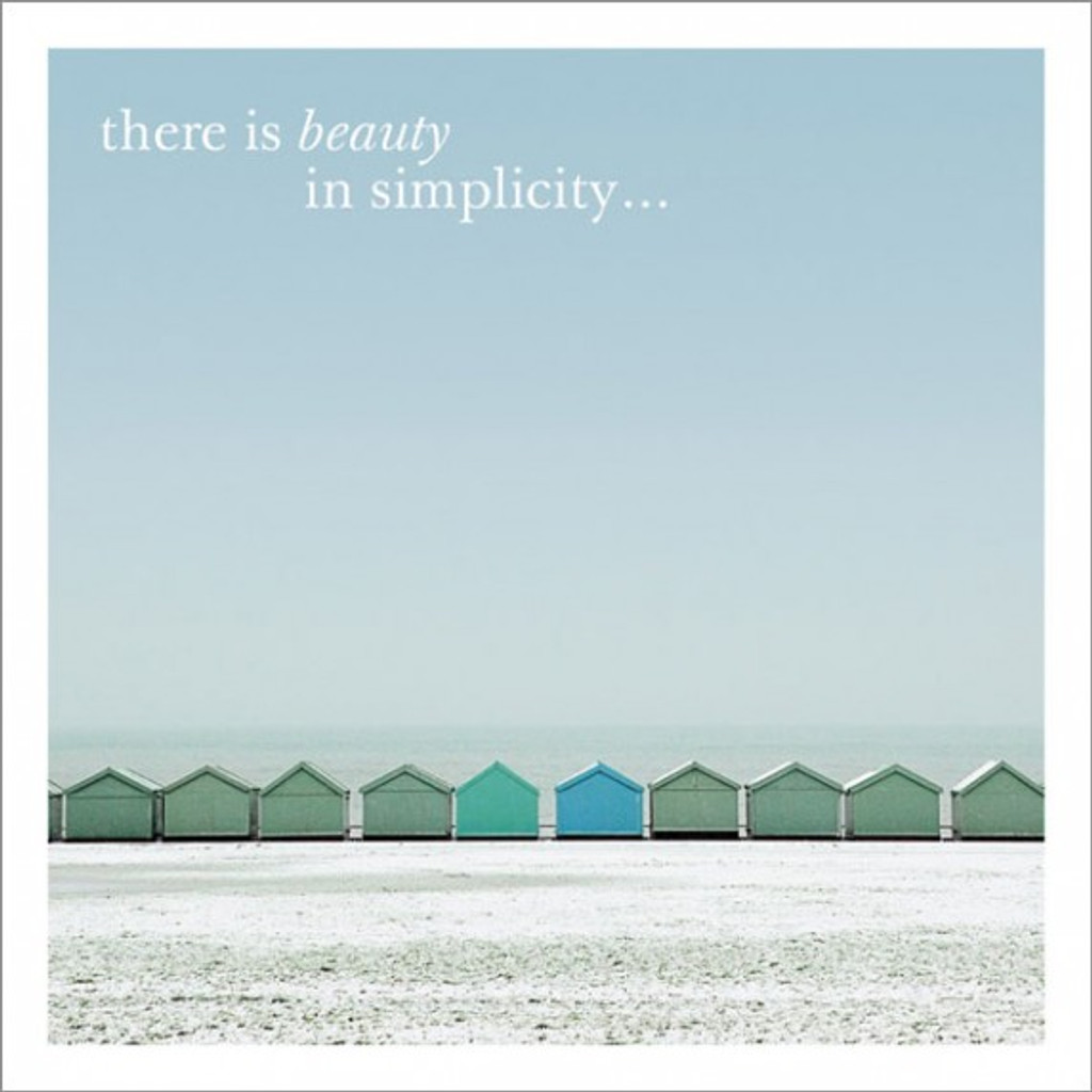There is Beauty Inspirational Greeting Card - Icon Art