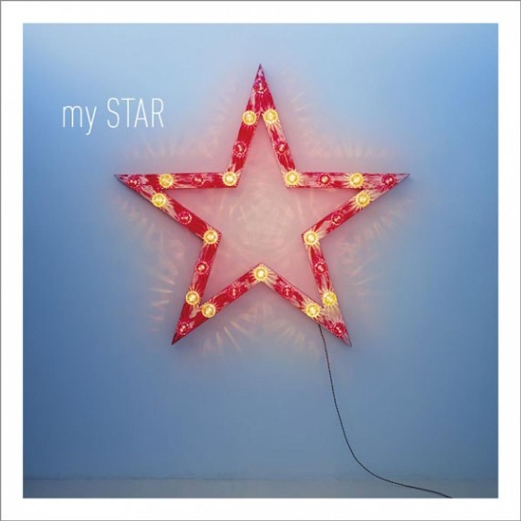 My Star Greeting Card - Icon Art
