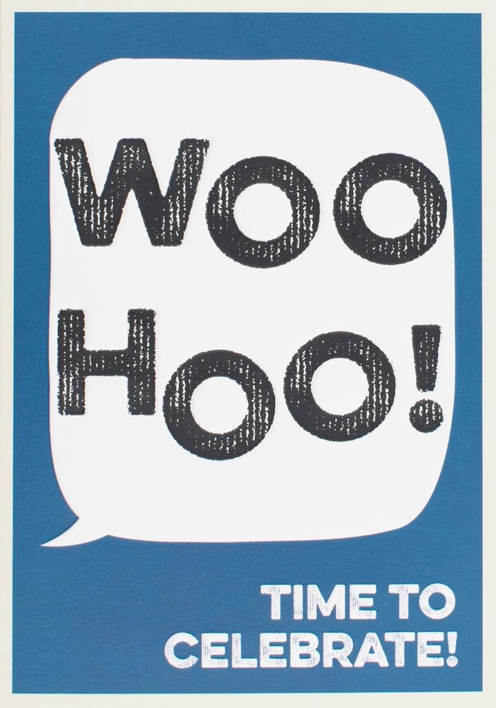 Woo Hoo Greeting Card - Think of Me