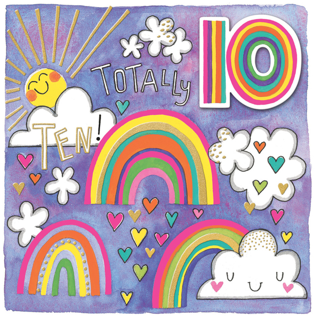 Totally 10 Greeting Card - Rachel Ellen