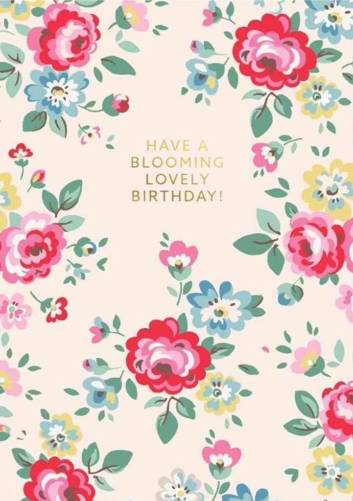 Cath Kidston Lovely Birthday Greeting Card | Ohh Dear