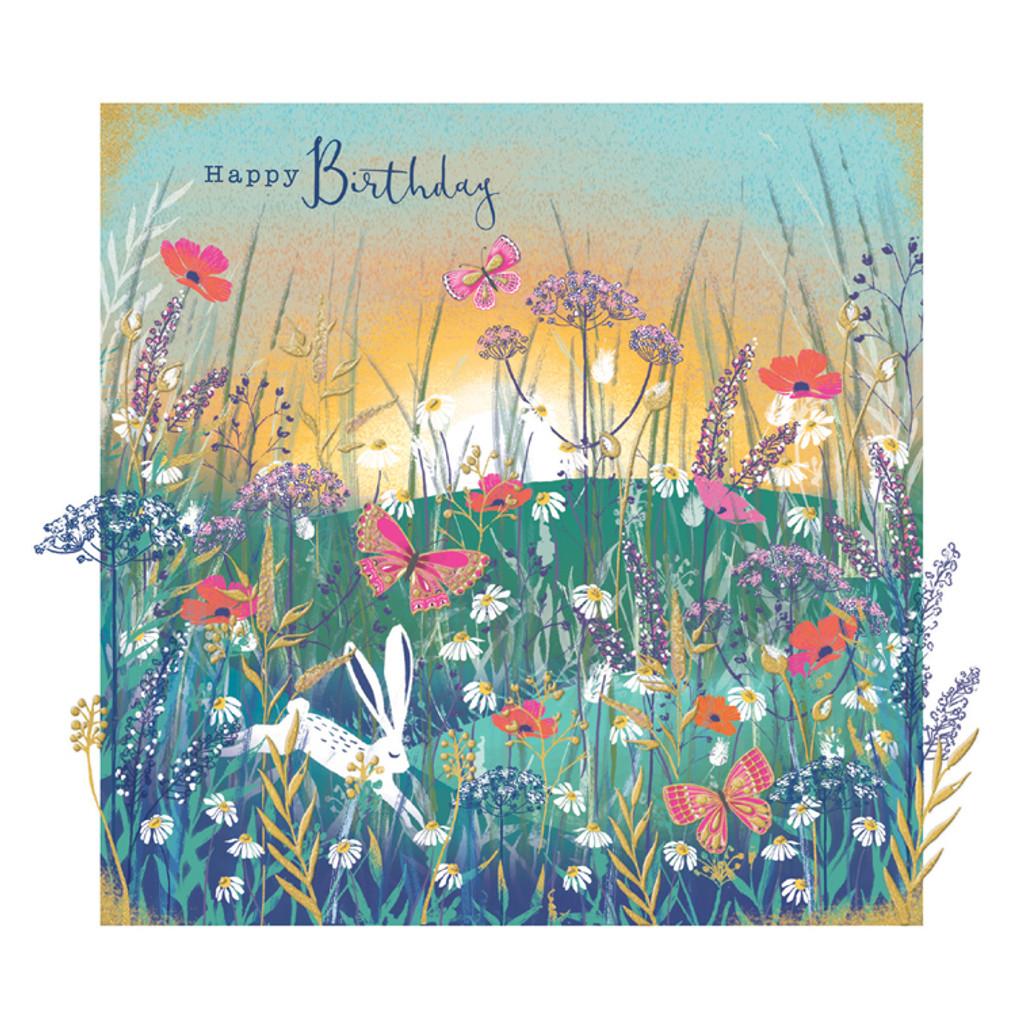 Floral Contemporary Birthday Cards - Rachel Ellen
