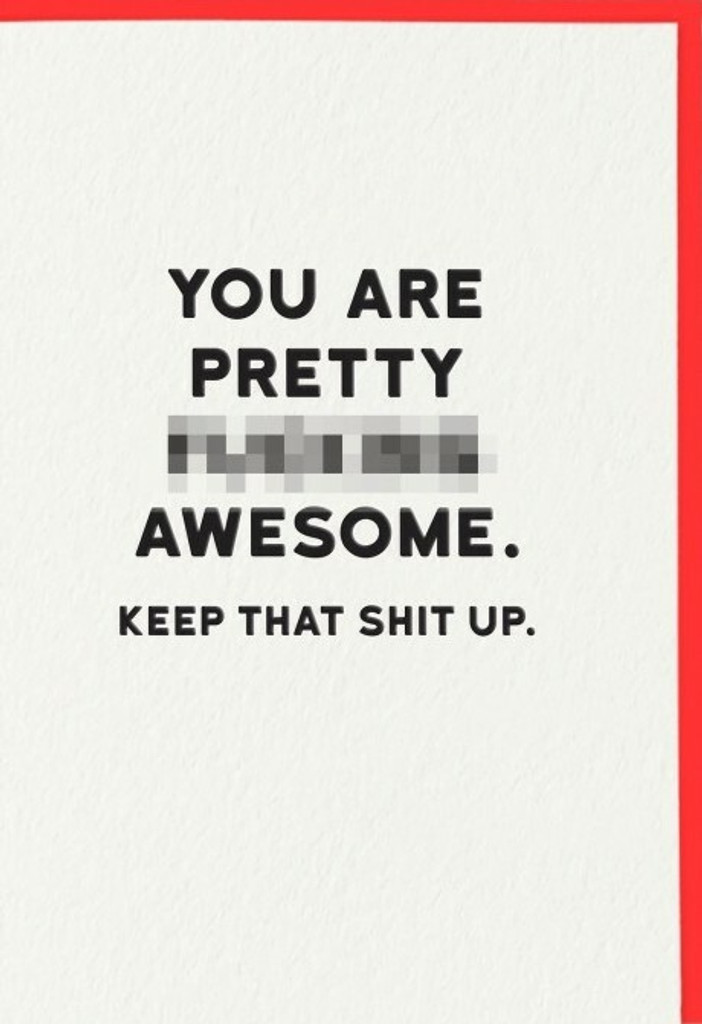 Awesome Birthday Card | Redback Cards