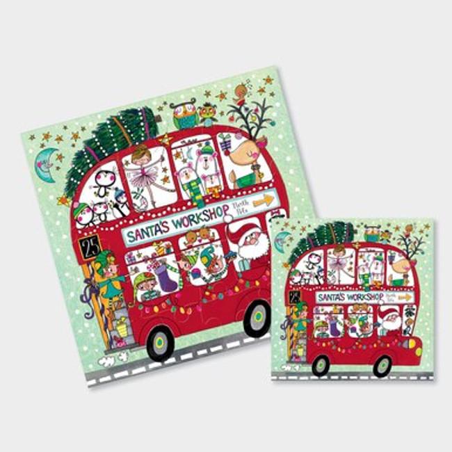 Cute  Christmas Jigsaw Cards