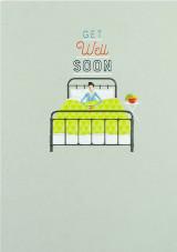 Get Well Bed  Card - Laura Darrington