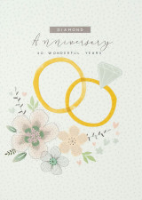 60 Wonderful Years Birthday Card - Laura Darrington