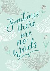 No Words Sympathy Card - Laura Darrington
