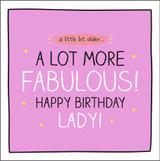 A litte Bit older Birthday Card Happy Jackson - Pigment Productions