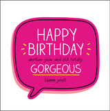 Happy Birthday Gorgeous Birthday Card Happy Jackson - Pigment Productions