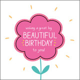 Big Beautiful Birthday Birthday Card Happy Jackson - Pigment Productions