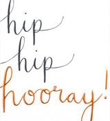 Hip Hip Hooray Birthday Card - Caroline Gardner