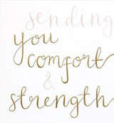 Courage & Strength Sympathy Card - Caroline Gardner