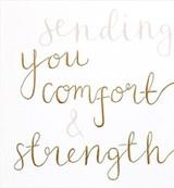Comfort & Strength Sympathy Card - Caroline Gardner