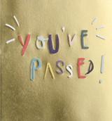 You've passed Driving Test Card - Caroline Gardner