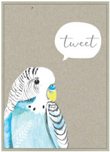 Tweet Birds Birthday Card - Cinnamon Aitch