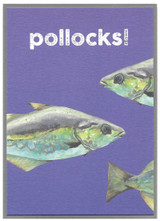 Pollocks Quirky Birds Greeting Cards - Cinnamon Aitch