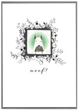 Woof Dog Birthday Card - Cinnamon Aitch