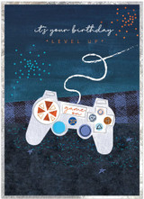 Gamer Teenage  Birthday Card - Cinnamon Aitch