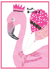 Flamingo, Birthday Card - Cinnamon Aitch