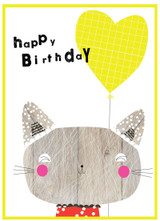 Cat Birthday Card - Cinnaom Aitch
