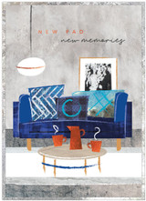 New Home Styish Greeting Card - Cinnamon Aitch