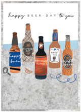 Happy Birthday Beer Day Teenage Card - Cinnamon Aitch