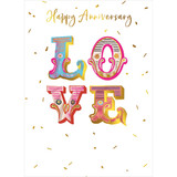 Anniversary Love Greeting Card - Real & Exciting Designs