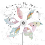 Believe in the Magic of Birthdays Greeting Card - Real & Exciting Designs