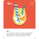 Gin Quirky Birthday Card - Mint Publishing