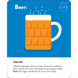 Beer Quirky Birthday Card - Mint Publishing