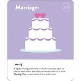Wedding Cake Quirky Greeting Occasion Card - Mint Publishing