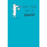 Pawfect Birthday Dog Greeting Card - Mint Publishing