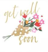 Get Well Flowers Card -  Caroline Gardner