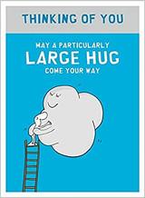 Large Hug Greeting Card