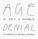 Age is Just a number Birthday Card Humour - Redback Cards