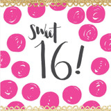 Sweet 16 Birthday Card - Rachel Ellen