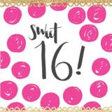 Sweet 16 Birthday Card - Rachel Ellen