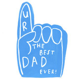 The Best Dad Ever Greeting Card Fathers Day - Sooshichacha