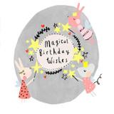 Magical Birthday Wishes Birthday Card - Sooshichacha