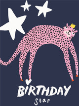 Birthday Star Birthday Card - Sooshichacha