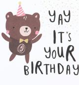 Yay It's Your Birthday Kids Birthday Card - Caroline Gardner