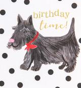 Scotty Dog Birthday Card - Caroline Gardner