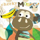 Cheeky Monkey Birthday Card - Black Olive