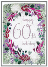 60th Birthday Card - Cinnamon Aitch
