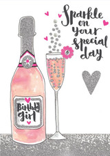 Sparkle on your Special Day Birthday Card - Rachel Ellen
