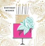 Birthday Cake Birthday Card - Rachel Ellen