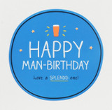 Man-Birthday  Birthday Card Happy Jackson - Pigment Productions