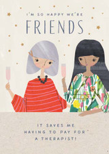 So happy we are Friends Birthday Card - Pigment Productions