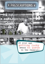 Getting Lucky Greeting Card by Frank by Name - Abacus Cards