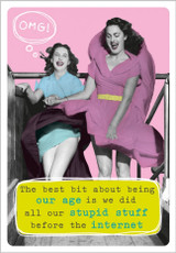 Stupid Stuff Greeting Card by Frank by Name - Abacus Cards